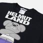 Мужская футболка Helmut Lang Helmut Land Mascot Standard Basalt Black фото - 1