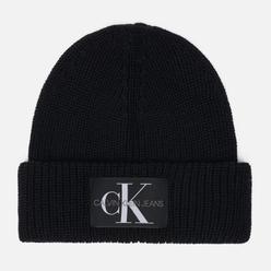 Шапка Calvin Klein Jeans Logo Beanie Black