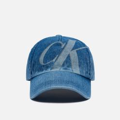 Кепка Calvin Klein Jeans CK Logo Denim Blue Denim