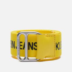 Ремень Calvin Klein Jeans Slider Bright Sunshine