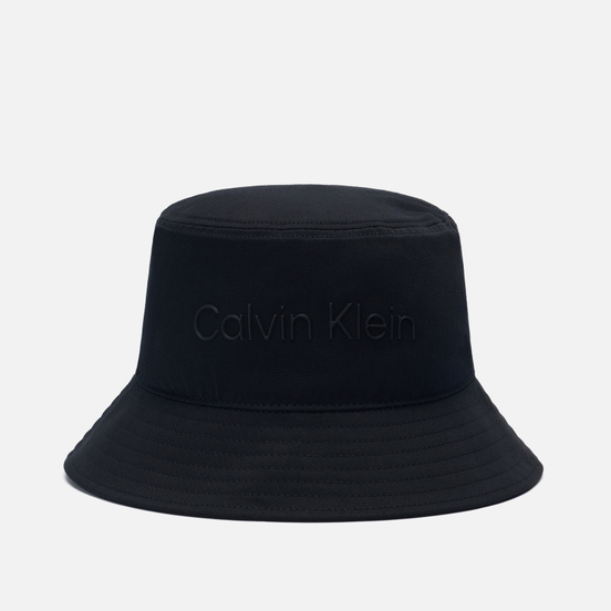 Панама Calvin Klein Jeans Embroidered Logo Black