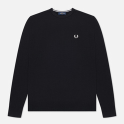 Мужской свитер Fred Perry Classic Crew Neck Black/White