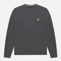 Мужской свитер Fred Perry Classic Crew Neck Graphite Marl
