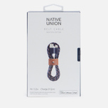 Кабель Native Union Belt Apple Lightning 1.2m Navy Nautical фото- 2