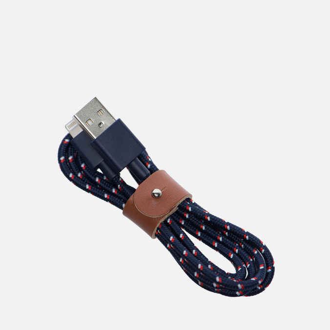 Кабель Native Union Belt Apple Lightning 1.2m Navy Nautical
