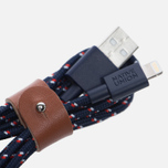 Кабель Native Union Belt Apple Lightning 1.2m Navy Nautical фото- 1