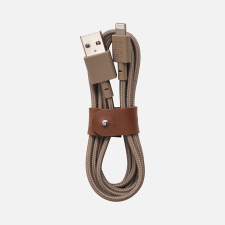Кабель Native Union Belt Apple Lightning 1.2m Taupe