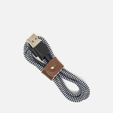 Кабель Native Union Belt Apple Lightning 1.2m Zebra