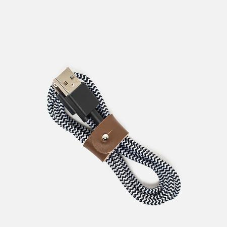 Кабель Native Union Belt Apple Lightning 1.2m Zebra