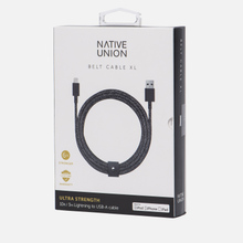 Кабель Native Union Belt Apple Lightning 3m Cosmos Black фото- 3