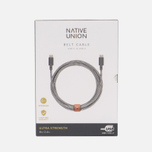 Кабель Native Union Belt USB Type-C/USB Type-C 2.4m Zebra фото- 3
