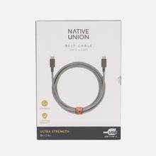 Кабель Native Union Belt USB Type-C/USB Type-C 2.4m Zebra фото- 3