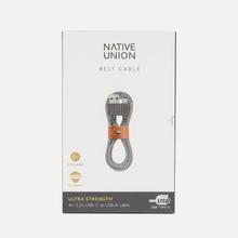 Кабель Native Union Belt USB/USB Type-C 1.2m Zebra фото- 3