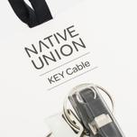 Native Union Key Apple Lightning Cable Zebra photo- 3