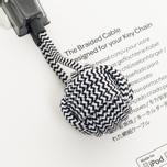 Native Union Key Apple Lightning Cable Zebra photo- 2