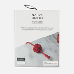 Кабель Native Union Night Apple Lightning 3m Coral Red фото- 4