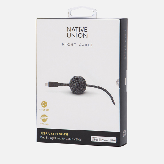 Кабель Native Union Night Apple Lightning 3m Cosmos Black