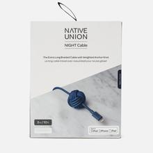 Кабель Native Union Night Apple Lightning 3m Marine фото- 4