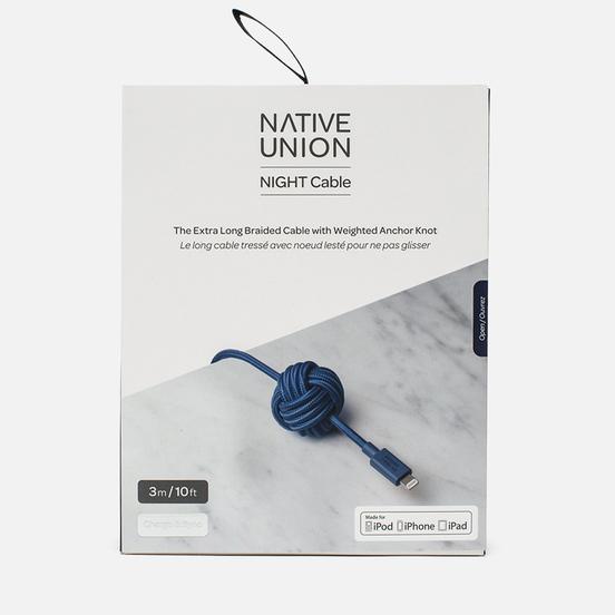 Кабель Native Union Night Apple Lightning 3m Marine