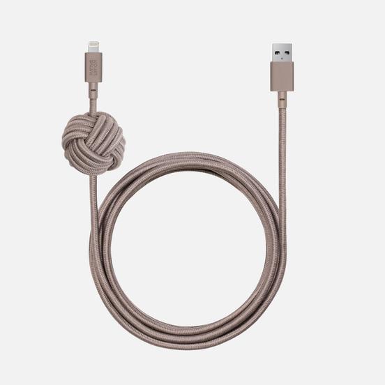 Кабель Native Union Night Apple Lightning 3m Taupe