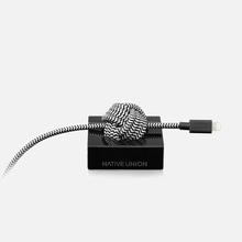 Кабель Native Union Night Marble Edition Apple Lightning 3m Black фото- 1