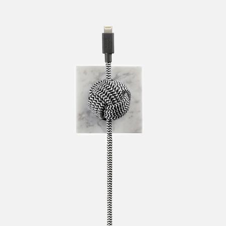 Кабель Native Union Night Marble Edition Apple Lightning 3m White