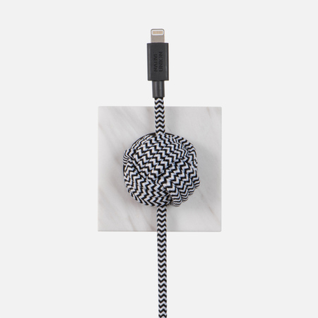 Кабель Native Union Night Marble Edition Apple Lightning 3m White
