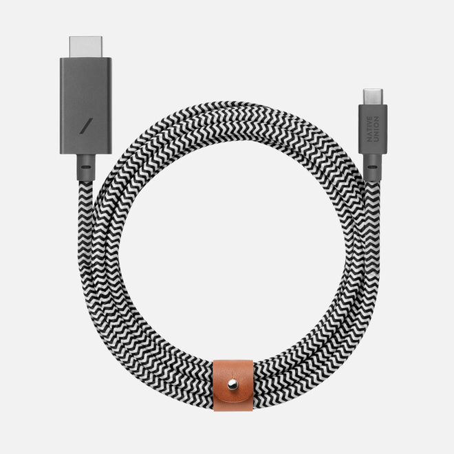 Кабель Native Union USB Type-C/HDMI 3m Grey