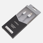 Кабель Rombica Digital IB-01 USB/Lightning 1m Silver/Black фото- 1
