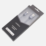Кабель Rombica Digital IB-03 USB/Lightning 1m Dark Grey фото- 1