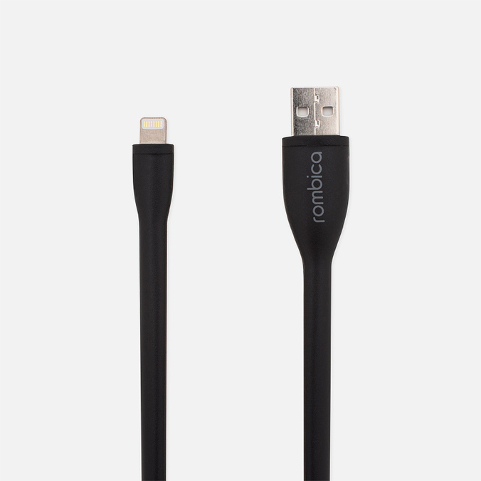 Кабель Rombica IG-01 USB/Lightning 0.35m Black