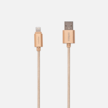 Кабель Rombica Digital USB/Lightning 1m Gold