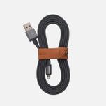 Кабель Rombica Link USB/Lightning 1.5m Grey фото- 0