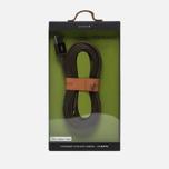 Кабель Rombica Link USB/Lightning 1.5m Olive фото- 3