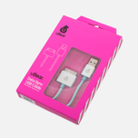 Кабель uBear MFI Data Sync USB 1m Light Blue фото- 1