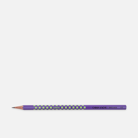 Карандаш Caran d'Ache Grafik HB Purple/Green