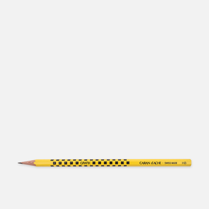 Карандаш Caran d'Ache Grafik HB Yellow/Black