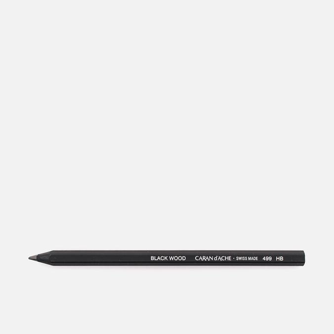 Caran d'Ache Black Wood Maxi HB Pencil