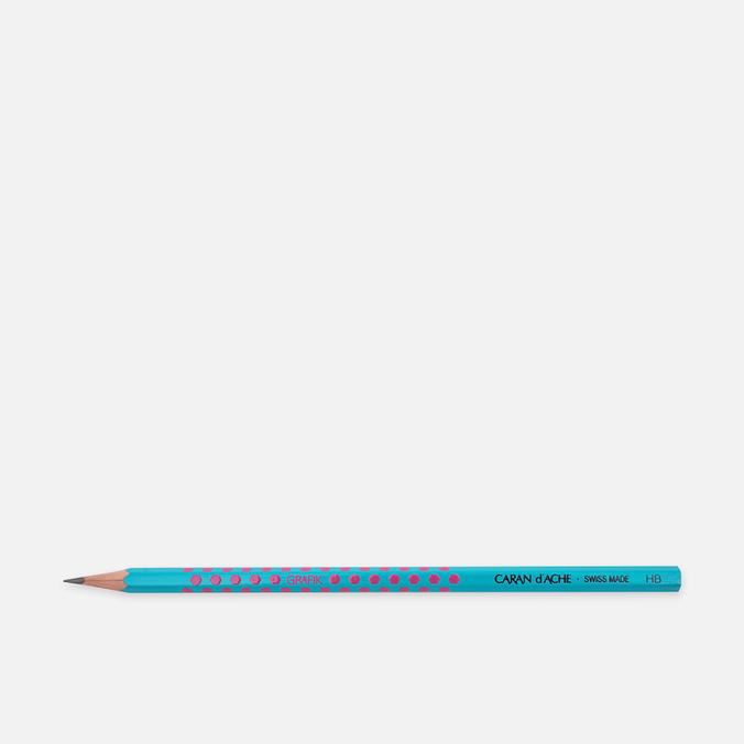 Карандаш Caran d'Ache Grafik HB Blue/Pink