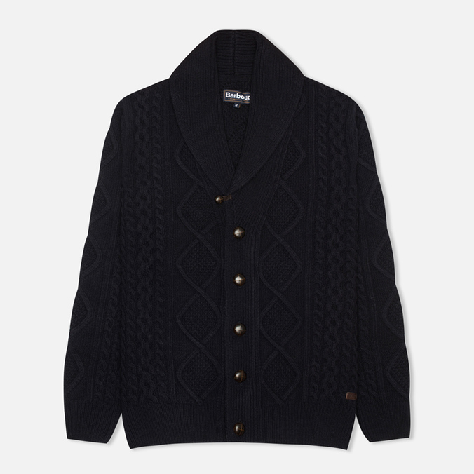 Мужской кардиган Barbour Kirktown Shawl Navy