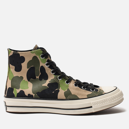 Кеды Converse Chuck Taylor All Star 70 High Candied Ginger/Piquant Green