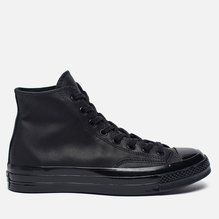 Кеды Converse Chuck Taylor All Star 70 Mono Leather High Top Black