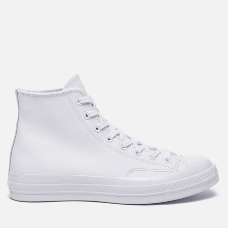 Кеды Converse Chuck Taylor All Star 70 Mono Leather High Top White