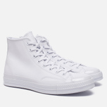 Кеды Converse Chuck Taylor All Star 70 Mono Leather High Top White фото- 1