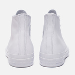 Кеды Converse Chuck Taylor All Star 70 Mono Leather High Top White фото- 3