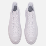 Кеды Converse Chuck Taylor All Star 70 Mono Leather High Top White фото- 4