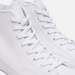 Кеды Converse Chuck Taylor All Star 70 Mono Leather High Top White фото- 5