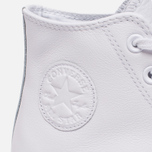Кеды Converse Chuck Taylor All Star 70 Mono Leather High Top White фото- 6