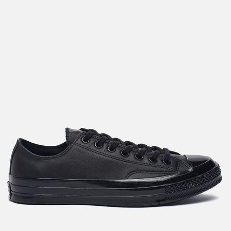 Кеды Converse Chuck Taylor All Star 70 Mono Leather Low Top Black