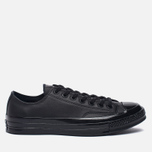 Кеды Converse Chuck Taylor All Star 70 Mono Leather Low Top Black фото- 1